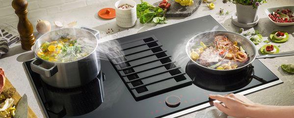 Nóg meer mogelijkheden voor kookplaatafzuiging: Induction Air van NEFF