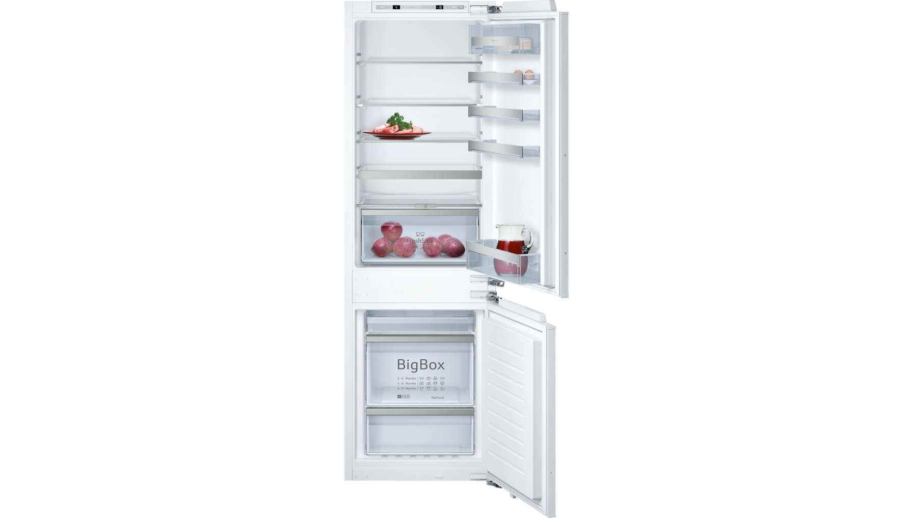 product showroom fridges and freezers fridge freezers. Black Bedroom Furniture Sets. Home Design Ideas