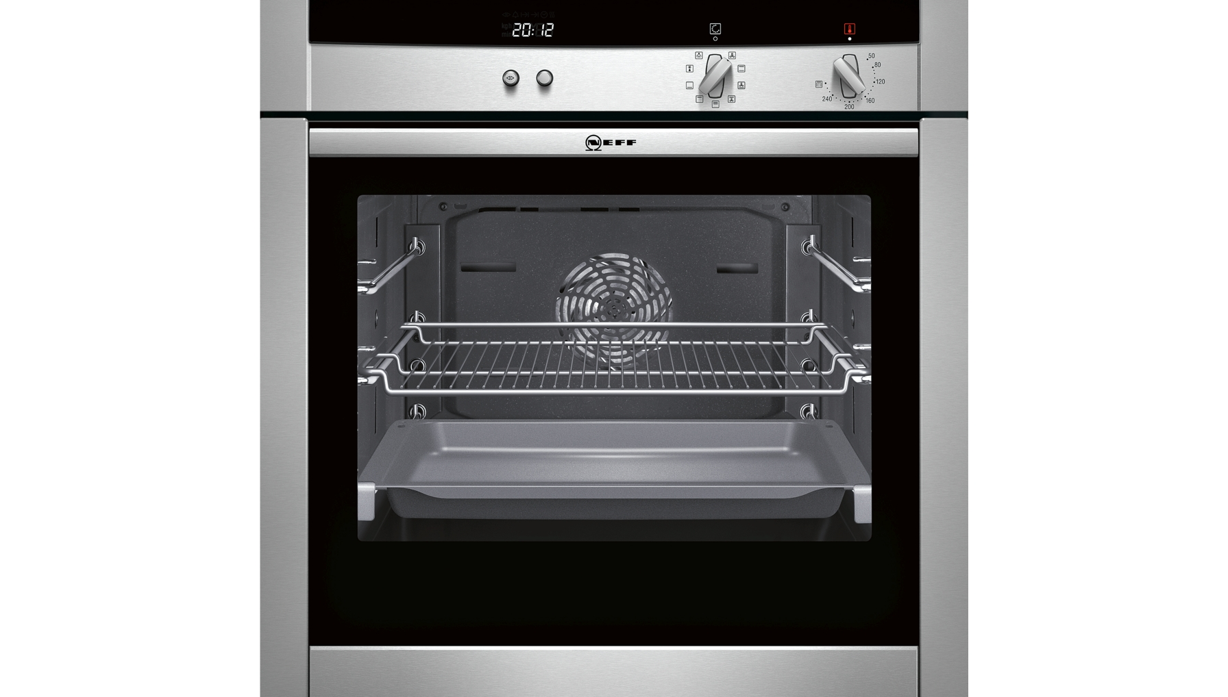 product showroom ovens single ovens b45m54n3gb. Black Bedroom Furniture Sets. Home Design Ideas
