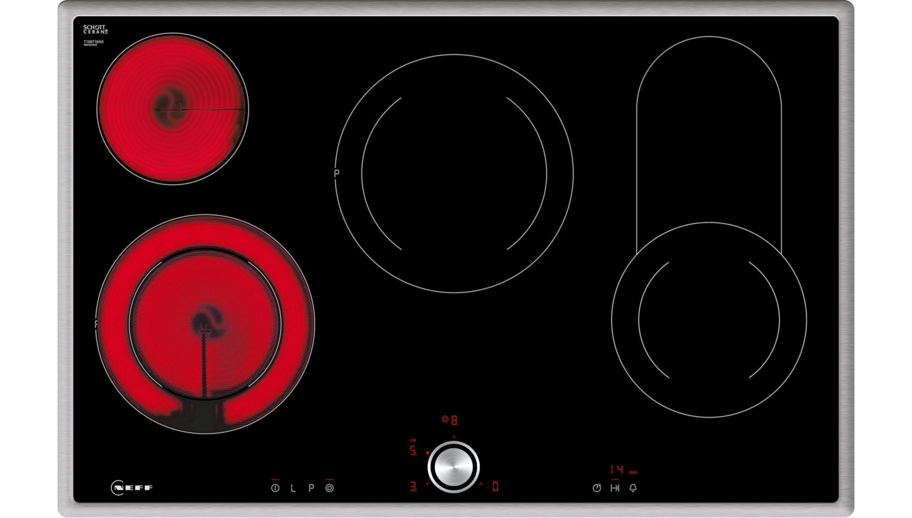 neff produkte kochfelder autarke elektro kochfelder t18bt16n0. Black Bedroom Furniture Sets. Home Design Ideas