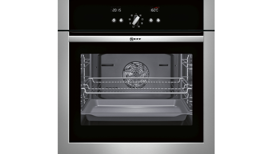 Product showroom ovens single ovens b14p42n5gb - Neff single oven with grill ...