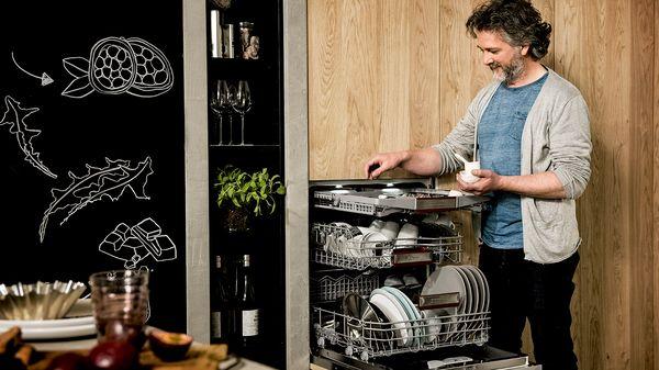Тайные герои - 45-см посудомоечные машины NEFF