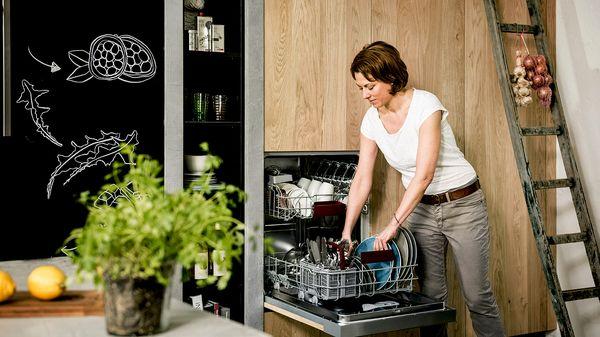 Всему есть место - посудомоечные машины шириной 60 см.