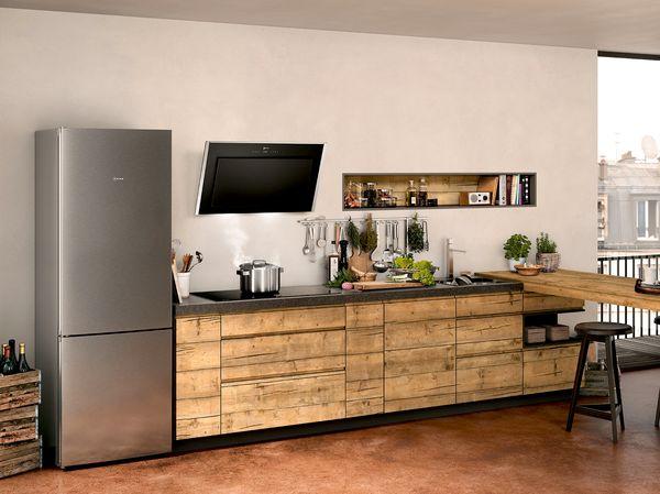 Einbauschrank Für Side By Side Kühlschrank : Kühl gefrierkombination für ihre küche neff