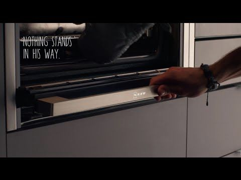 Slide Hide The Only Fully Retractable Oven Door Neff