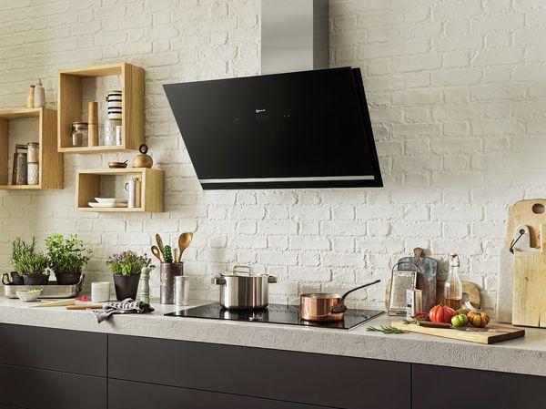 Wandessen und kopffreihauben für ihre küche neff