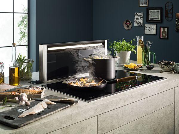 Cappe aspiranti integrate per la tua cucina | NEFF