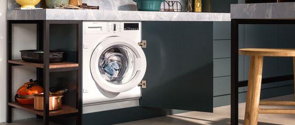 Einbauwaschmaschine Einbau Waschtrockner Neff