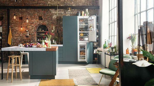 Amerikanischer Kühlschrank Zum Einbauen : Kühl gefrierkombinationen kühlschränke und gefrierschränke neff