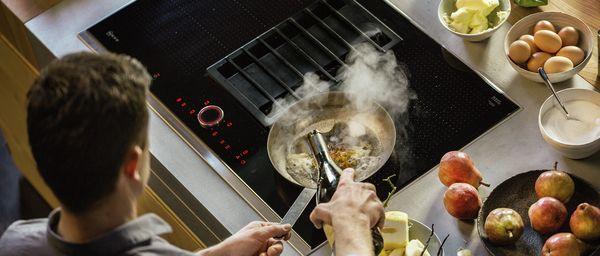 Der Integrierte Kochfeldabzug Neff