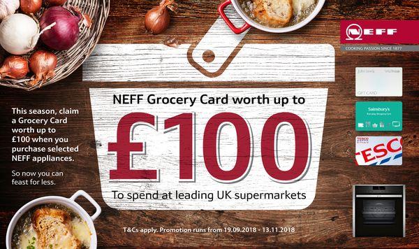 Grocery Card Promotion Neff Uk