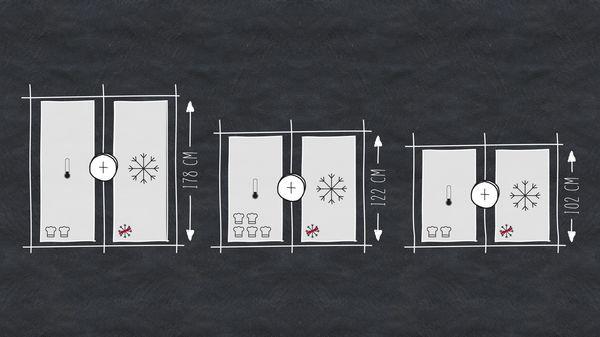Side By Side Kühlschrank Eingebaut : Side by side kühlschrank kühlschränke gefrierkombinationen neff