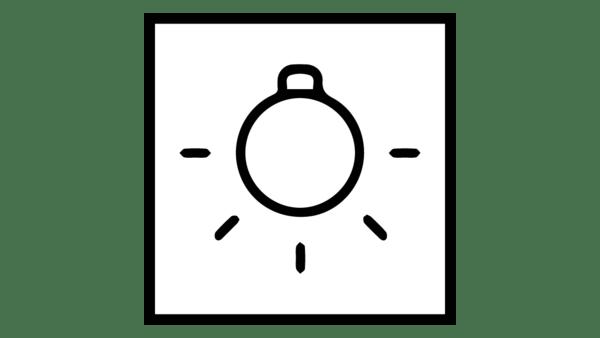 İç aydınlatma sembolü grafiği