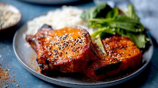 Oven Baked Korean Pork Chops | NEFF UK