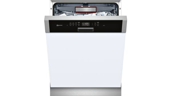 Semi-integrated dishwasher 60 cm Stainless steel S425T80S0A